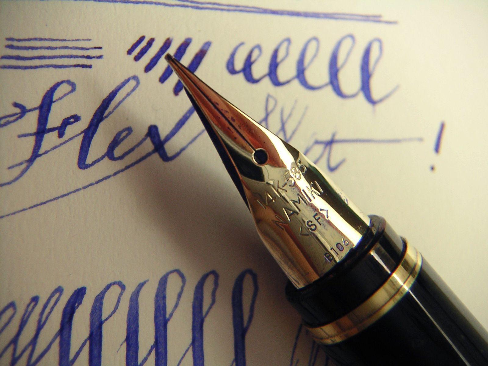 Pilot Namiki Falcon Fountain Pen Flex Nib