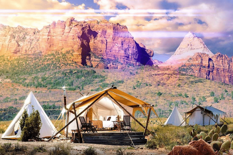 This Company Offers Luxury 'Glamping' Near National Parks
