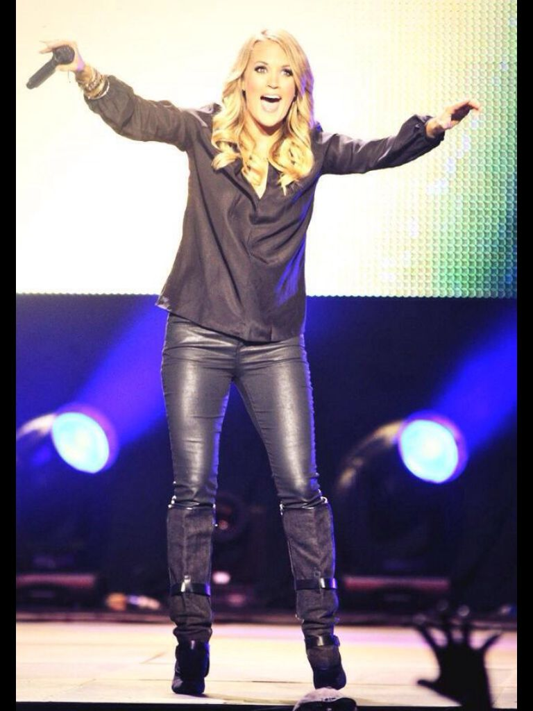 c673cf4ed613a Carrie underwood Carrie Underwood Mike Fisher, Latex, Carry On, Leather  Pants, Leather