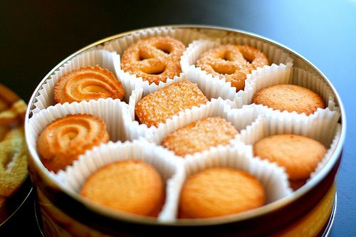 My Mom Always Used To Have A Tin Of These Cookies At Her House