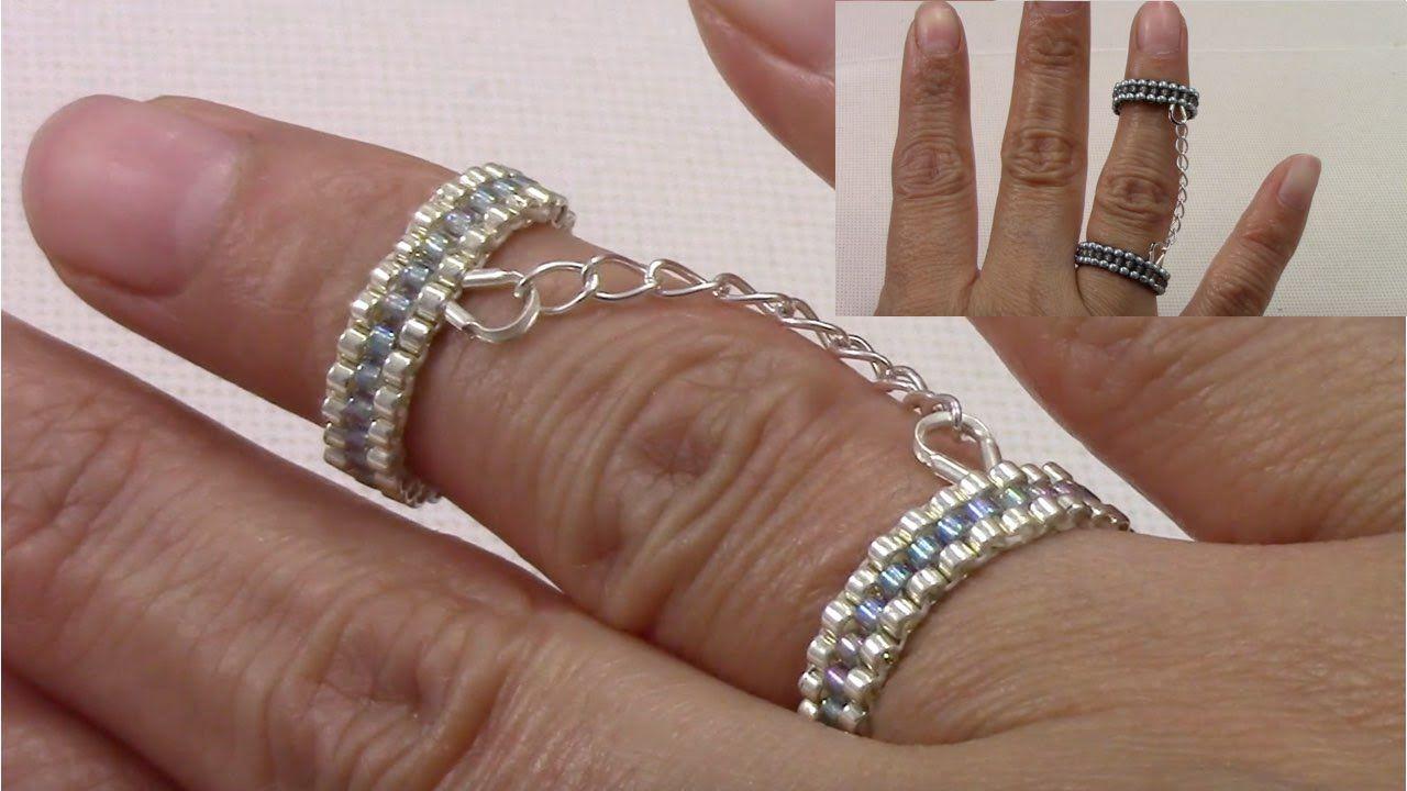 Handmade jewelry handcuff beaded ring free tutorial english handmade jewelry handcuff beaded ring free tutorial english version mbabquickandfacil beaded jewelry baditri Choice Image