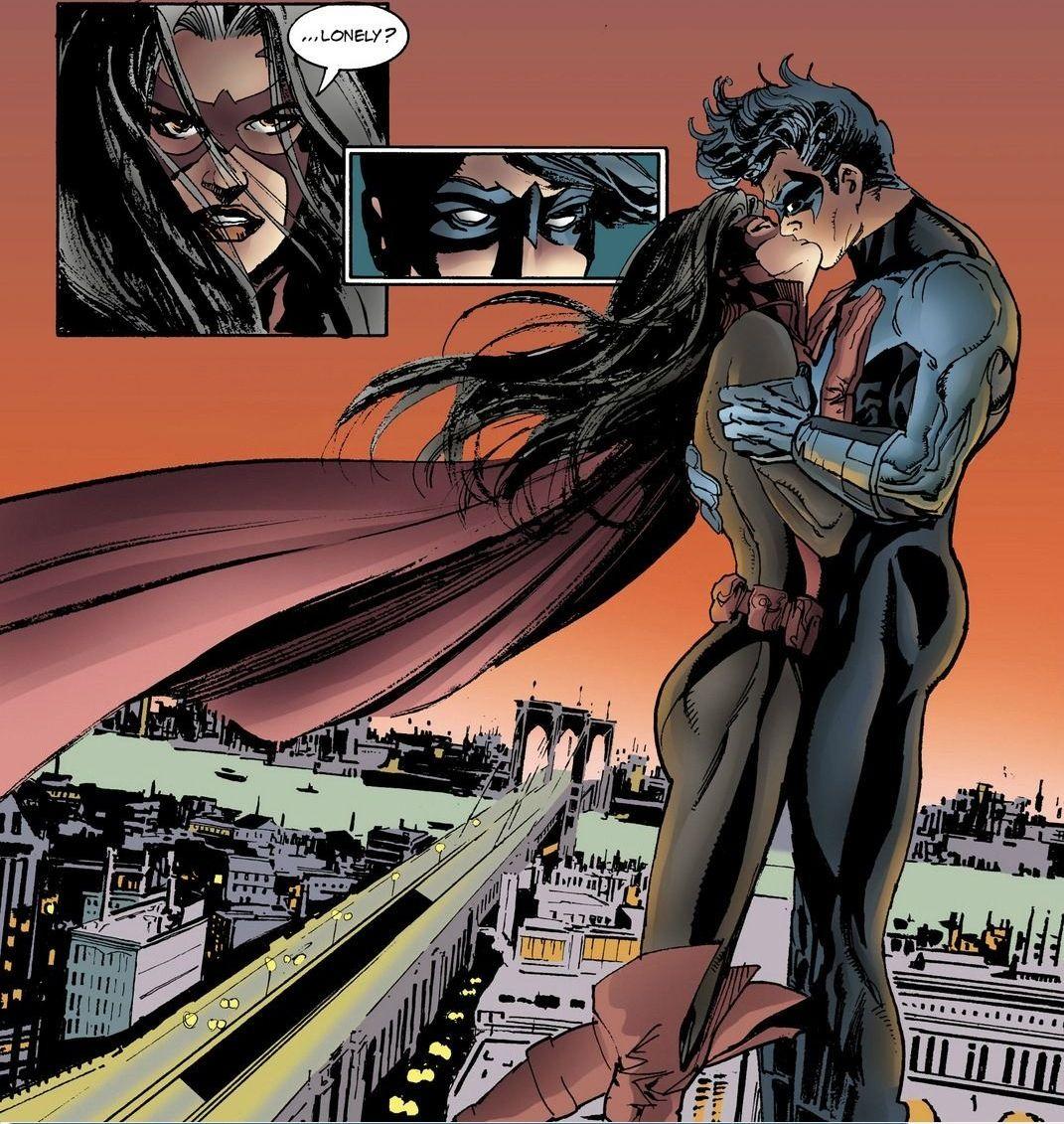 Nightwing by Ginger on Pinterest | Barbara Gordon, Comic ...