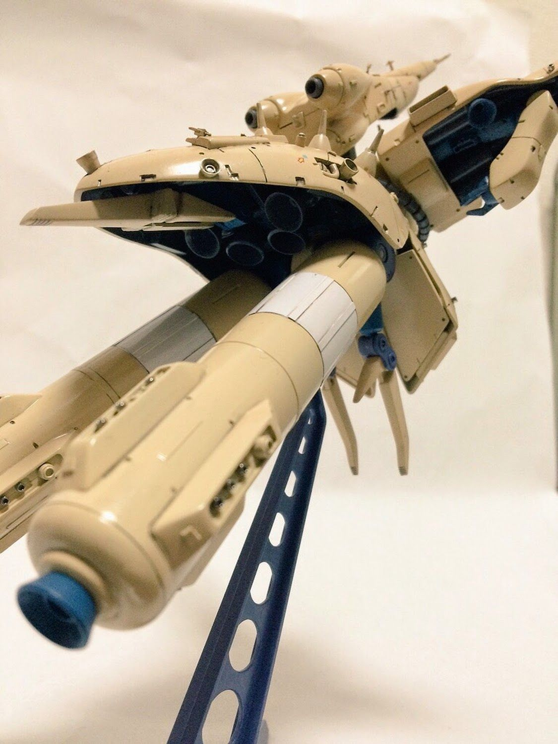 "Custom Build: 1/550 Alpha Azieru ""Detailed"" - Gundam Kits Collection News and Reviews"