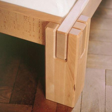 Logo Slot Together Bed More Woodworking Projects On Www