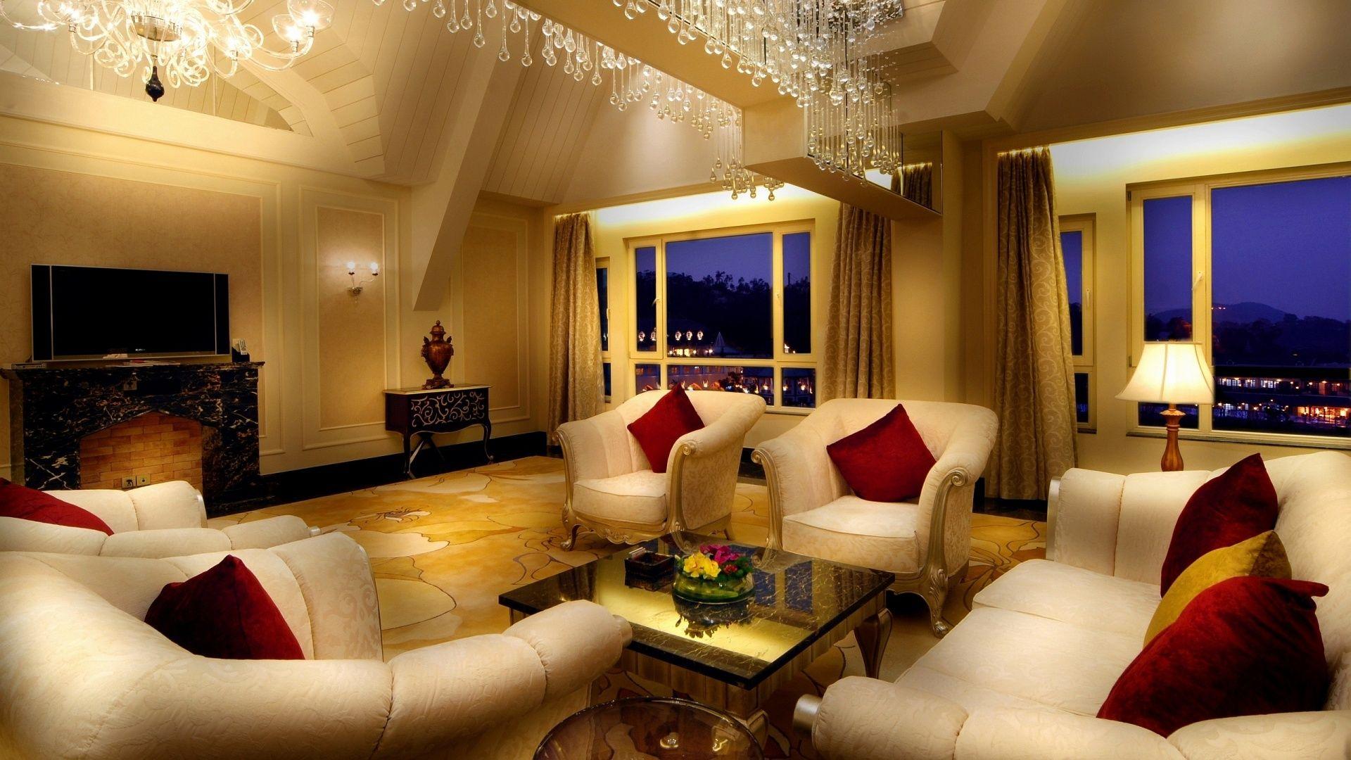 Luxus Wohnzimmer Moderne Und Grandiosen Innenraum Ideen | Möbel ...