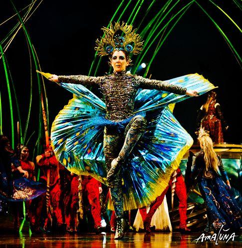 Pin By Diane Garrett On Peacocks Cirque Du Soleil Night Circus Cirque