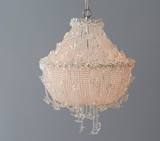 Monique Lhuillier Butterfly Chandelier | Pottery Barn Kids