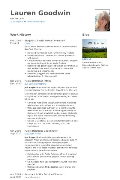 Social Media Consultant Resume Samples Visualcv Resume Samples Database Social Media Consultant Resume Resume Examples