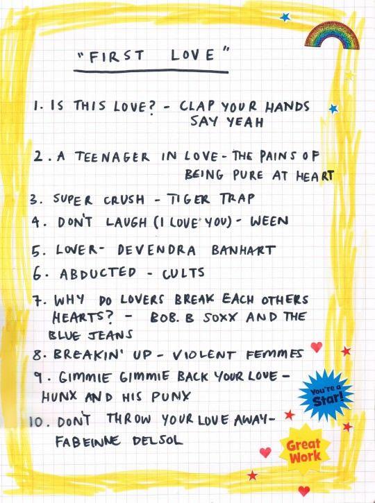 Friday Playlist First Love Music Playlist Song Playlist Music Mood