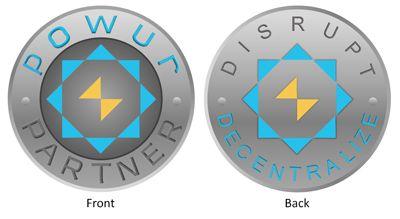 Front And Back Mock Up For Powur Partner Coin Challenge Coins Coins Symbols