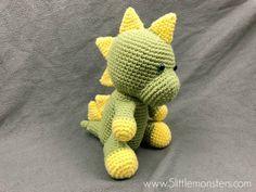 Gratis haakpatroon: DINOSAURUS #crochetdinosaurpatterns