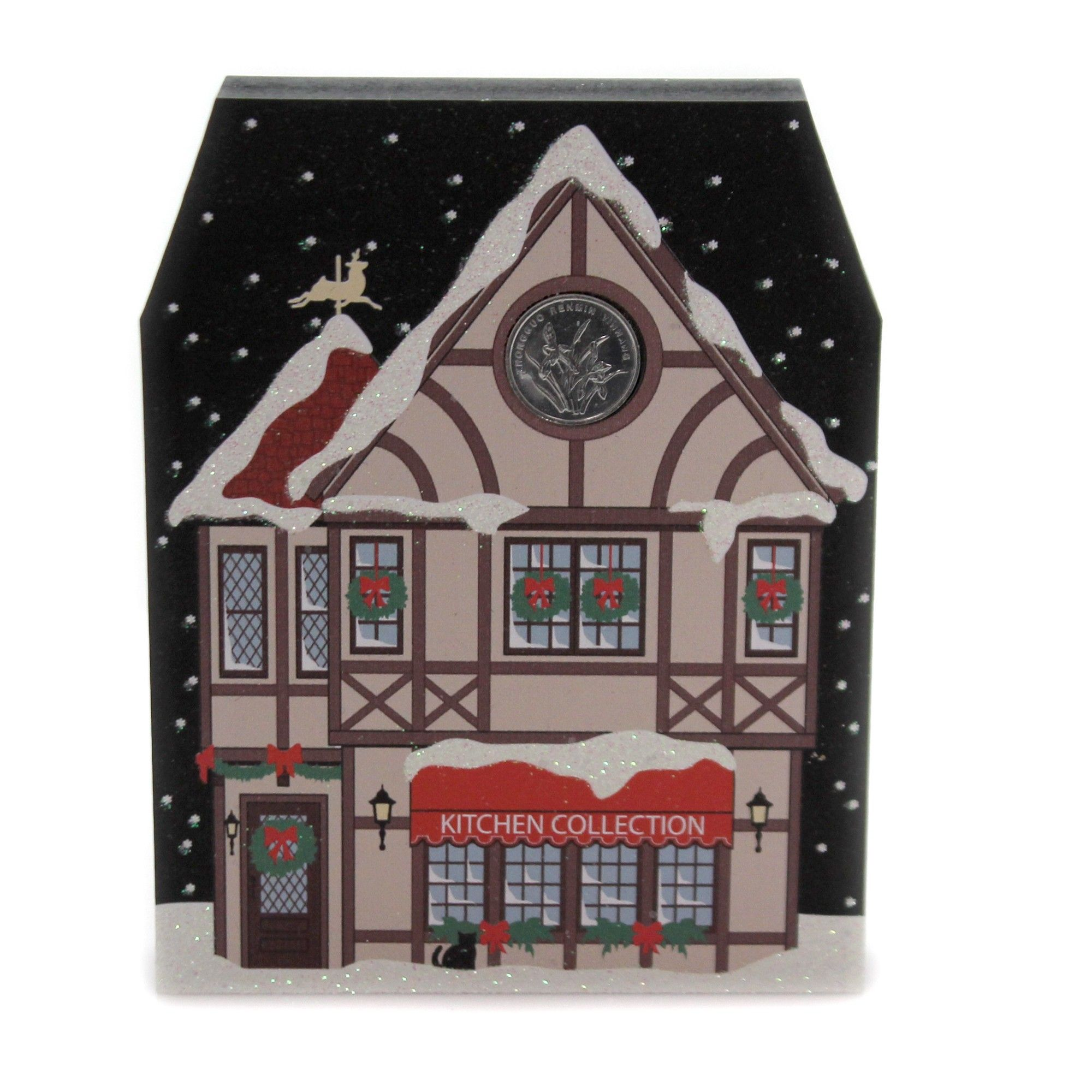 """Cats Meow Village 5.25"""" North Pole Kitchen Collection"""