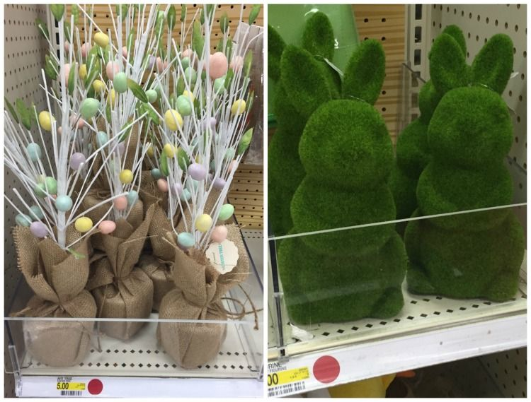 Target Dollar Spot Easter Green Bunnies Craft It In 2019