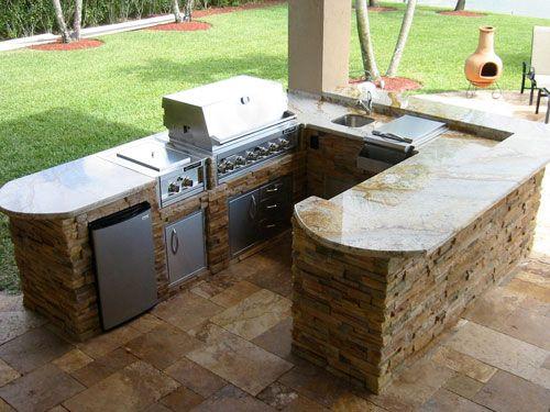 outdoor kitchen island designs My Wishlist Pinterest Island