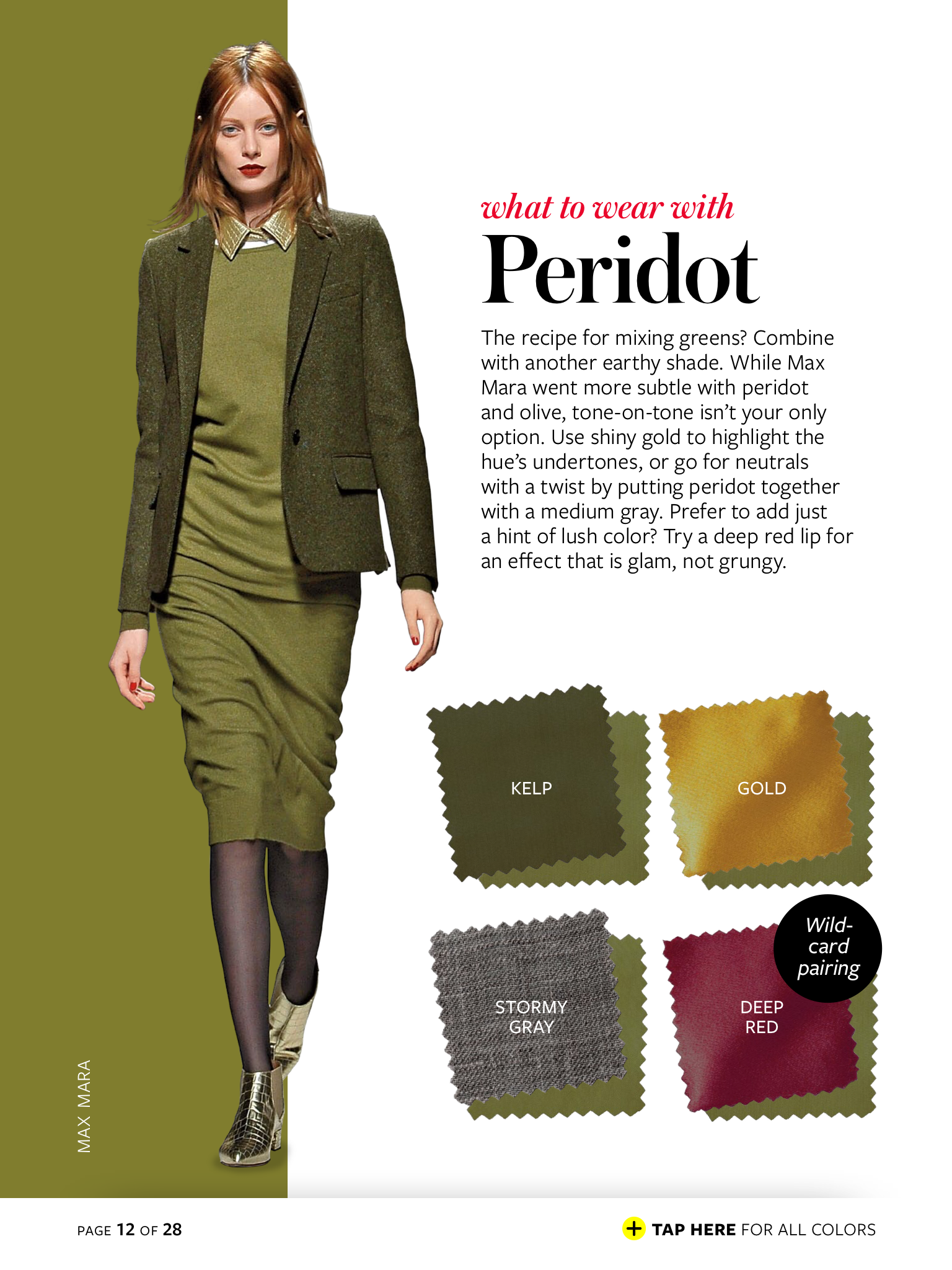 Tobacco | Colour combinations fashion, Instyle color crash