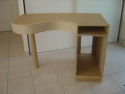 Cardboard computer desk and table tutorial are we getting clever