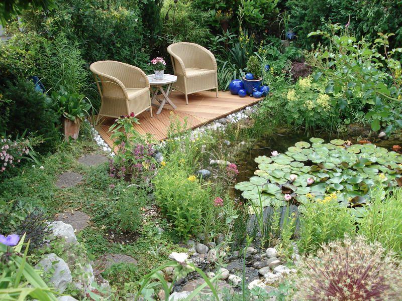 12 Ideen Fur Sitzplatze Im Garten Sitzplatz Im Garten Gartenecke Sitzecken Garten