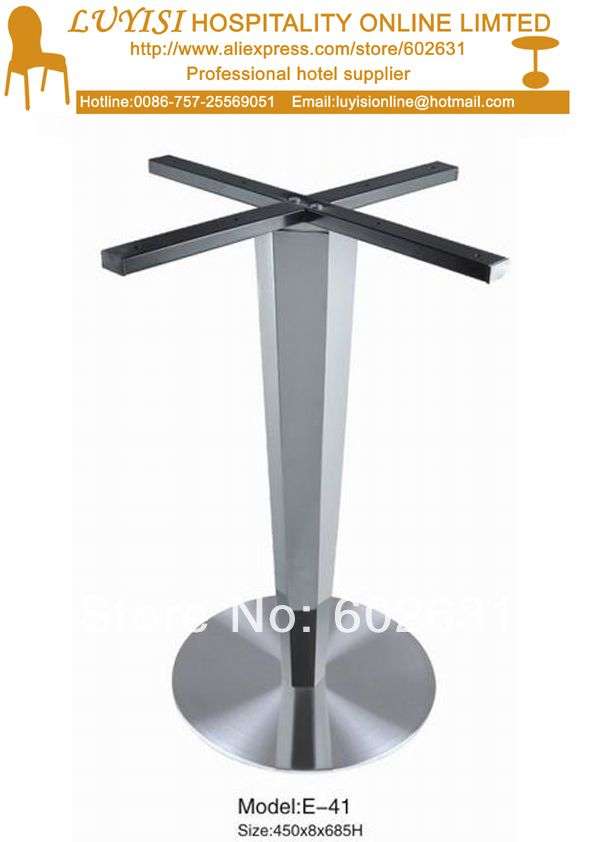 Cheap Stainless Steel Table Base Buy Quality Base Directly From - Stainless steel dining table base suppliers