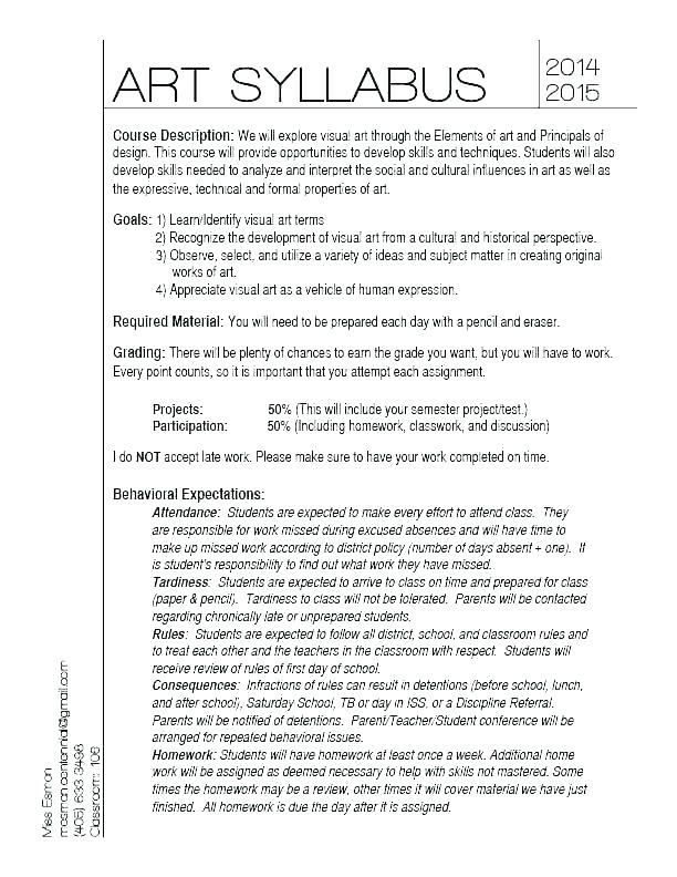 Teacher Syllabus Template Online Design Course Plan Unique Free In 2020 Teacher Syllabus Syllabus Template Syllabus
