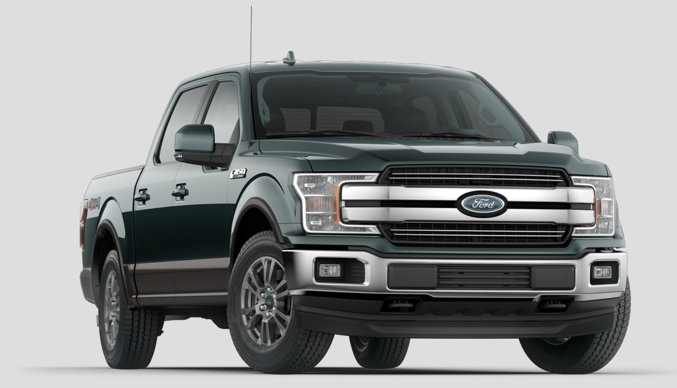 2018 Ford F 150 Lariat Guard Two Color Ford Trucks Hybrid