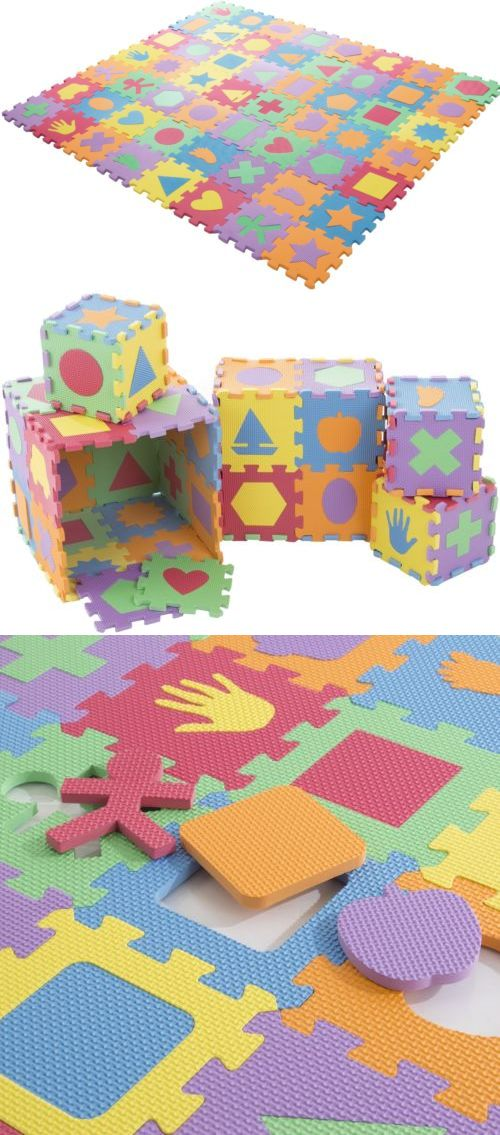 Blocks Tiles And Mats 145931 Foam Shapes Puzzle Learning 112 Piece