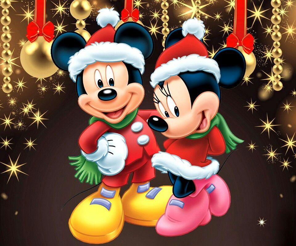 Mickey & Minnie Christmas Mickey mouse christmas, Mickey