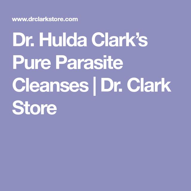 Dr. Hulda Clark's Pure Parasite Cleanses   Dr. Clark Store