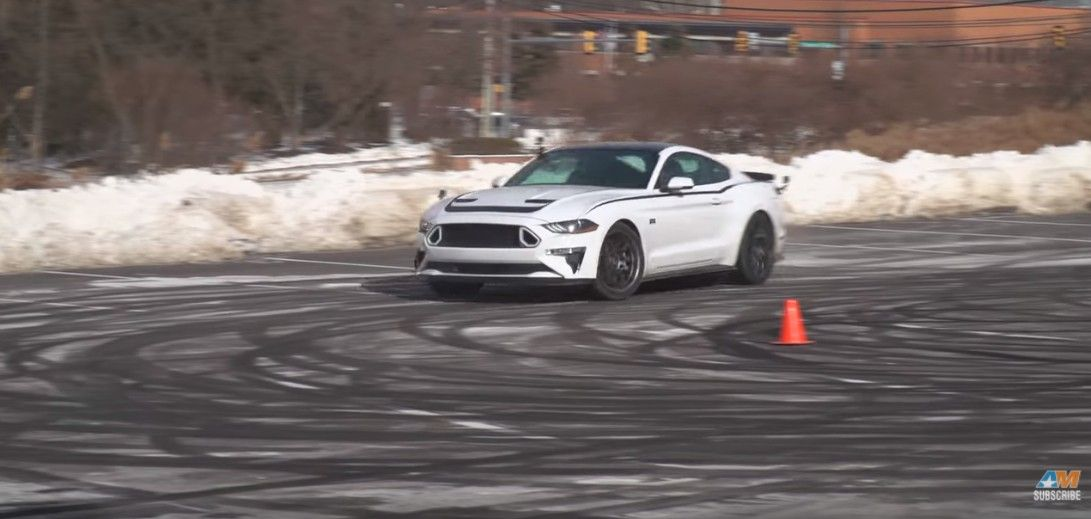 How To Drift A 2018 Ford Mustang Rtr Shelby Gt350r Formula