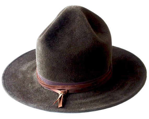 6759b858681 Mountie Hat Rangers Hat Pharrell Hat Smokey The Bear Hat Canadian Mountie  Campaign Hat Wide Brimmed