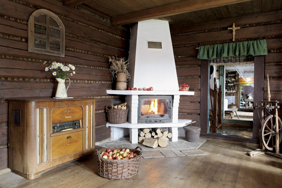 More that 60 years old wooden house - agroturismo, Jolinkowo, Beskid Makowiecki, 60km from Kraków / Poland