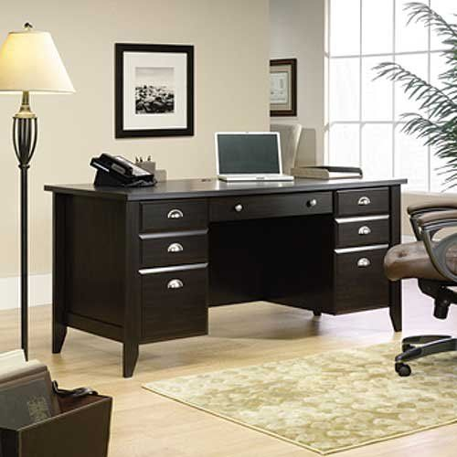 The Traditional Black Executive Office Desk At Rc Willey Is A Great Option For Your Home With Country Roots And Contemporary Soul Shoal Creek S