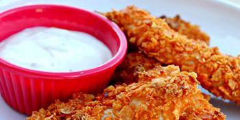 Doritos Crusted Chicken Strips