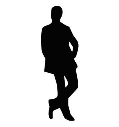 Silueta Hombre Silhouette Art People Png