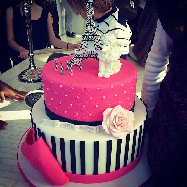 Stacey Wishes A Happy Birthday To Her Beautiful Brilliant Daughter Paris Themed Cakes