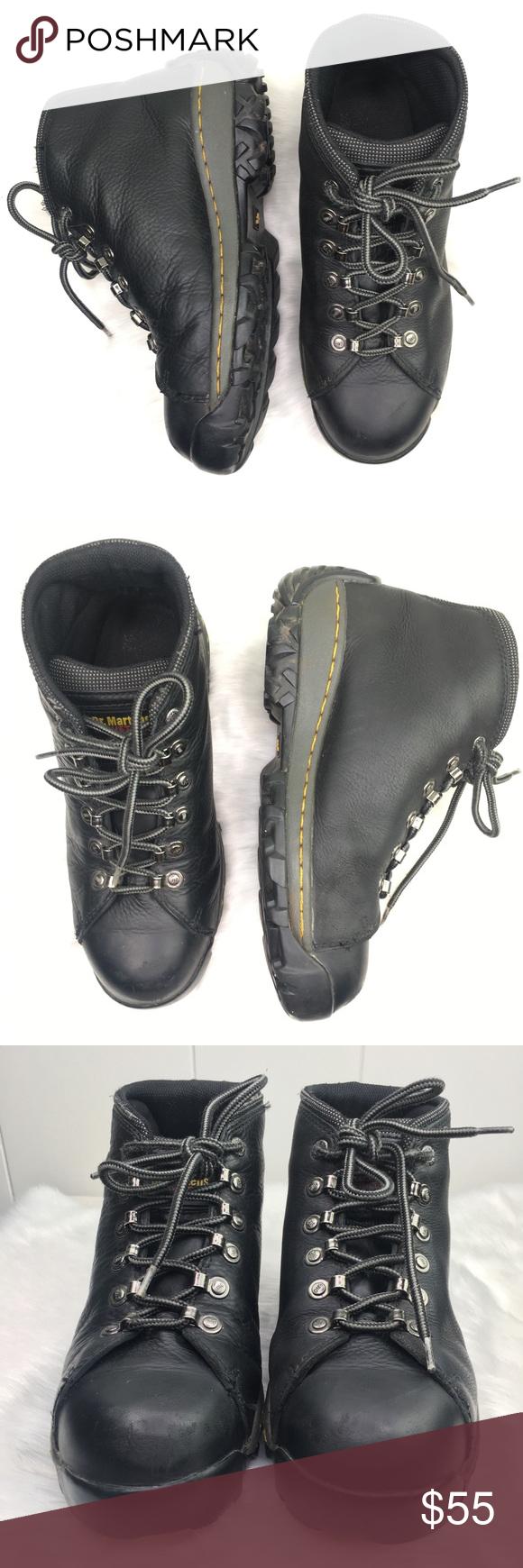 Dr. Martens industrial steel toe safety shoe boot Dr