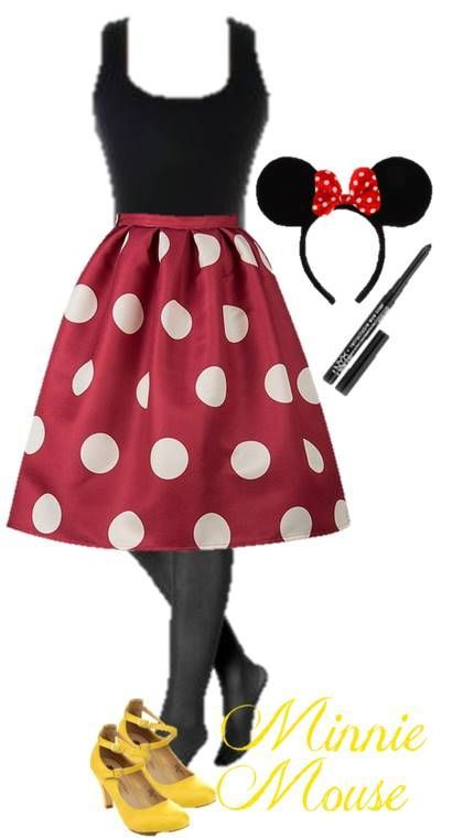 Halloween Costume Idea DIY Minnie Mouse: Use Our Ideas To Raid Your  Favorite Closet And