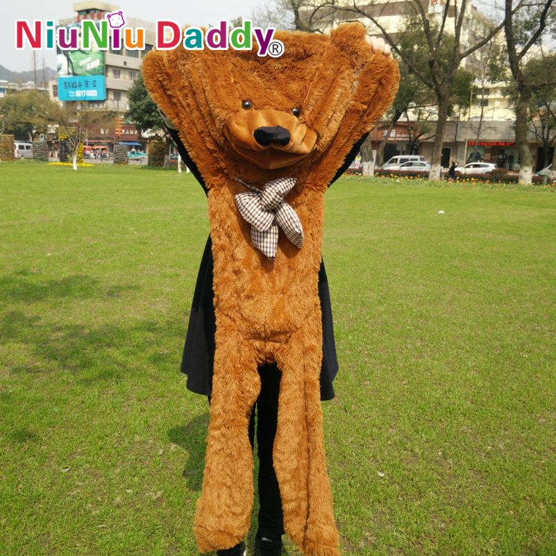 """Niuniu Daddy 140cm/55"""" inch Semi-finished products teddy bear skin,Plush Bear Skin,Plush Toys 5 color can choose,Free Shipping     Tag a friend who would love this!     FREE Shipping Worldwide     Get it here ---> https://hotshopdirect.com/niuniu-daddy-140cm55-inch-semi-finished-products-teddy-bear-skinplush-bear-skinplush-toys-5-color-can-choosefree-shipping/    #women #fashion #babies #love #shopping #follow #instashop #onlineshopping #instashopping #shoppingday #shoppingtime #instagood…"""