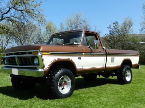 Brown Ford Trucks Truck Year 1976 Mileage 37011 Color Brown Brown Location Idaho United Ford Trucks Ford Pickup Trucks Ford F250