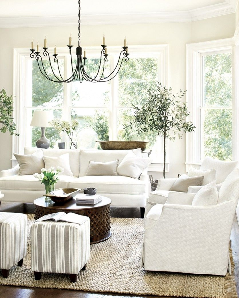 How To Pick Paint Colors  White Lounge Indoor Trees And Sisal Rugs Amazing Light Colored Living Rooms Decorating Inspiration
