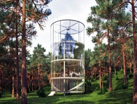 The High Life: 12 Incredible Residential Tree House Designs