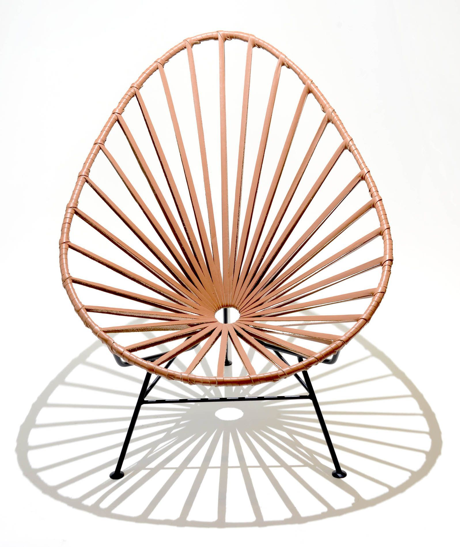 Acapulco chair leather - Acapulco Lounge Chair Leather