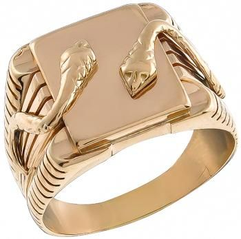 Tiffany & Co Gold Snake Ring