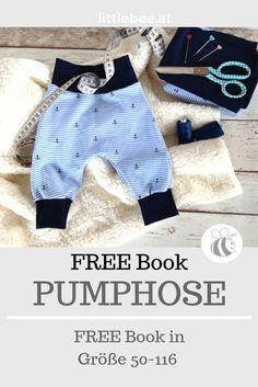 Pumphose FREE Tutorial - FREE Book - LITTLEBEE