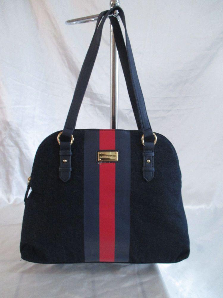 Tommy Hilfiger Bag Blue Denim Satchel 6937760 462 Handbag Authentic Brand  New  TommyHilfiger  Satchel bda2a90b56