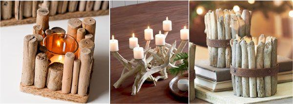 le bois flotte bougies
