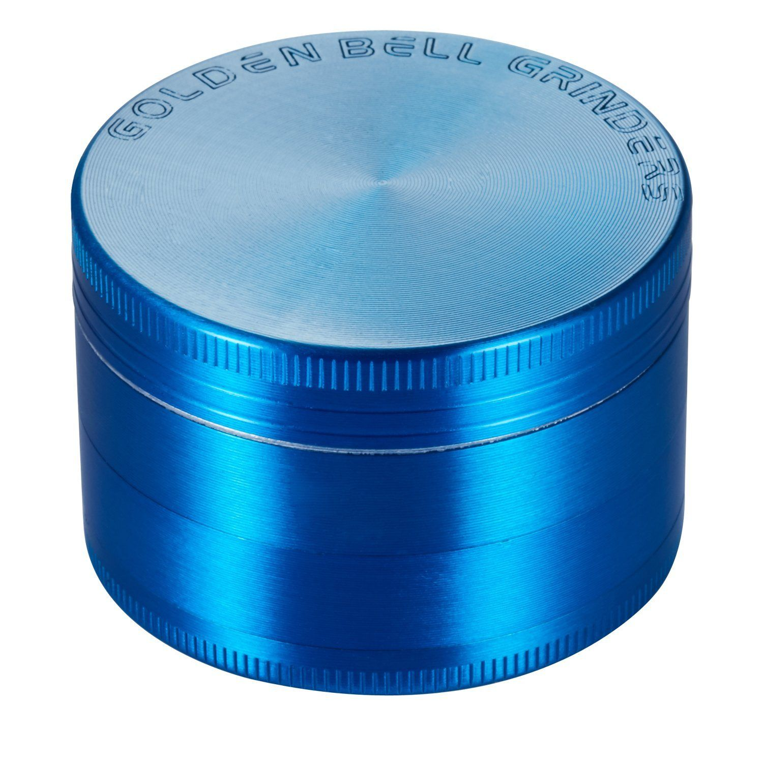 Golden Bell 4 Piece 2\' Spice Herb Grinder - Blue *** This is an ...