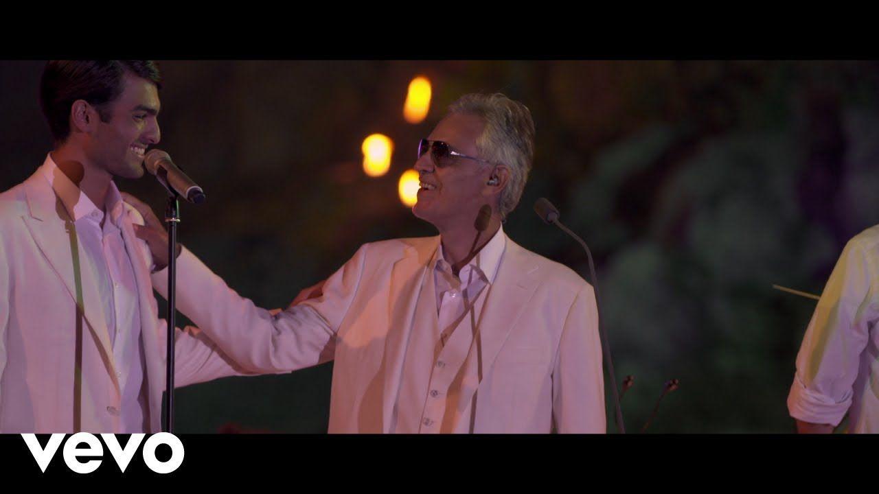 Andrea Bocelli Matteo Bocelli Fall On Me Live At Portovenere