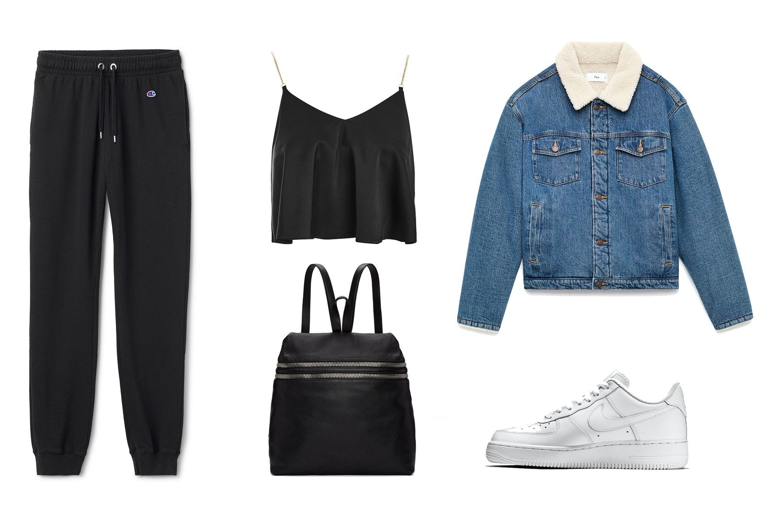 One Item Two Ways: Nike Air Force 1 | fashion outfits