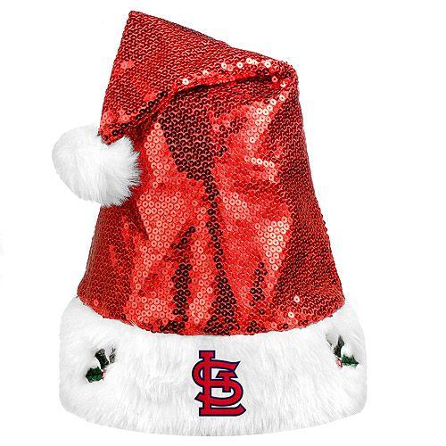 St. Louis Cardinals Sequin Santa Hat - MLB.com Shop