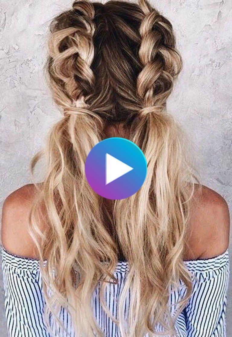 35 Cute Hair Styles Ideas For School In 2020 Cool Hairstyles Long Hair Styles Easy Hairstyles For Long Hair